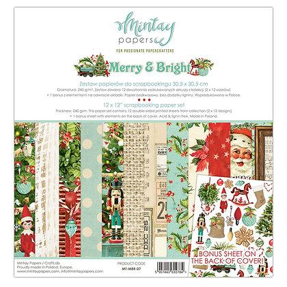 Merry & Bright - Block 12 x 12