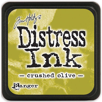Distress ink - Crushed Olive - Tinta distress