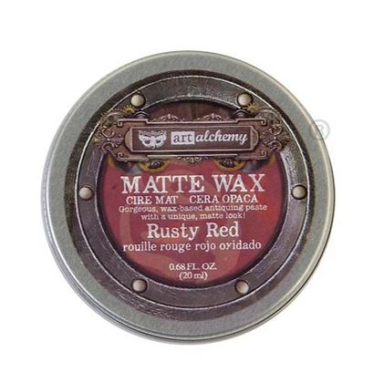 Matte Wax - Cera Matte Rusty Red
