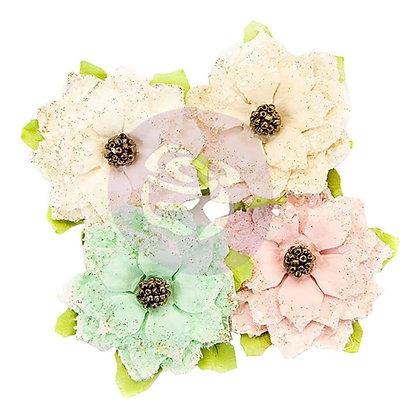 Santa baby - Flores de papel