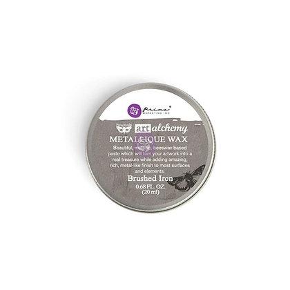 Metallique Wax - Cera metálica Brushed Iron