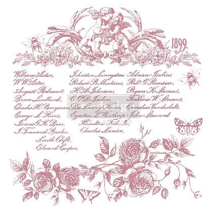 Sello Floral Script