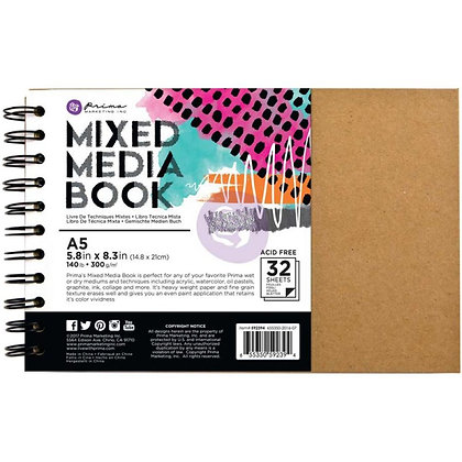 Mixed media book - Libreta A5