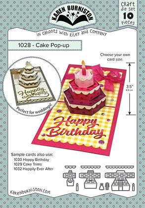 Cake Pop-up - Sistema de troqueles para torta Pop-up