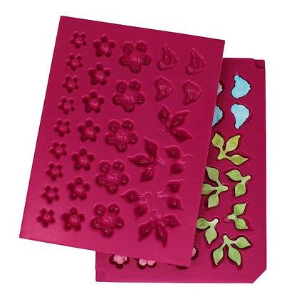 Texturador - 3D Cherry Blossom Shaping Mold