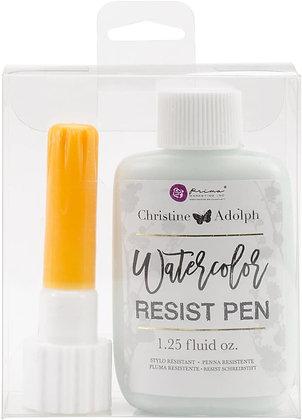 Watercolor resist pen - Aplicador resistente a la acuarela
