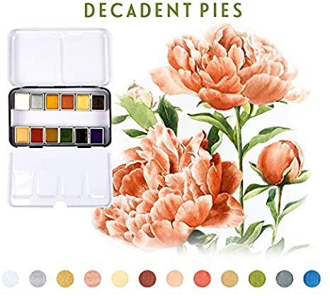 Acuarelas - Watercolor Confections Decadent pies
