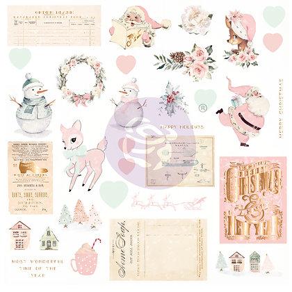 Chipboard - Sugar Cookie Christmas Collection Ephemera 2
