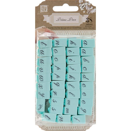 Prima press block letters - Sellos de bloques de letras