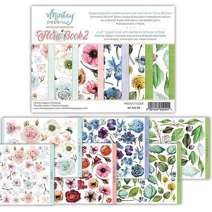Flora Book 2 - Block 6 x 8
