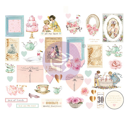 Chipboard - With love Collection