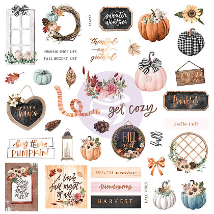 Chipboard - Pumpkin & Spice Collection Ephemera 2