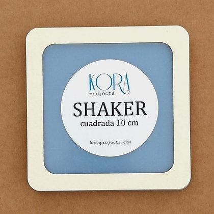 Shaker - Cuadrada 10 cm