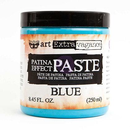 Patina effect Paste blue - Pasta de patina azul