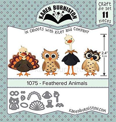 Feathered Animal - Troquel Animales emplumados