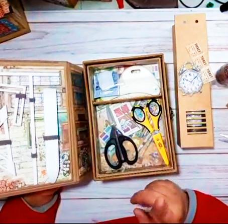 Tutorial de Cartonaje creativo con Patricia Sánchez
