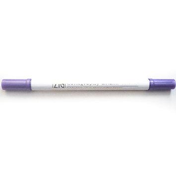 Calligraphy Metallic Dual-Tip Marker Morado - Rotulador punta doble