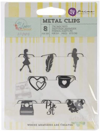 Metal clips - Bloom