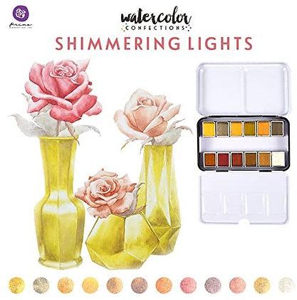 Acuarelas - Watercolor Confections Shimmering Lights