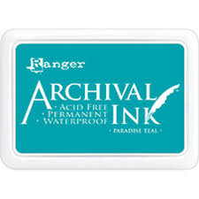 Tinta Archival - Ink  paradise teal