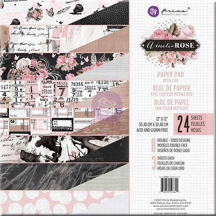 Amelia Rose - Block 12 x 12