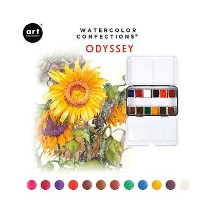 Acuarelas - Watercolor Confections Odyssey