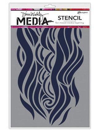 Stencil Wave - Diana wakley media