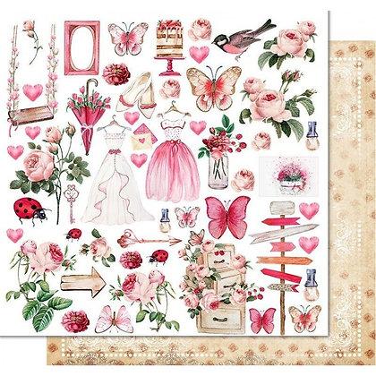 Recortable - Princess garden - Soul of flowers