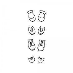 Sello Shoe Set - Sello set de zapatos de bebé