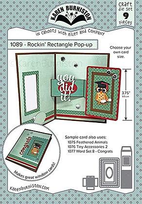 Rockin Rectangle pop-up - Sistema de troqueles Rectángulo