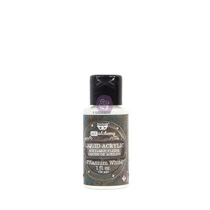 Acrílico líquido - Titanium white - Pintura acrílica