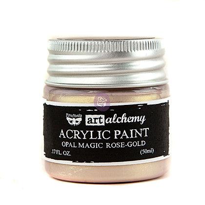Acrylic paint Opal magic - Rose-gold