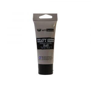 Heavy Gesso Black 59 ml - Gesso pesado negro