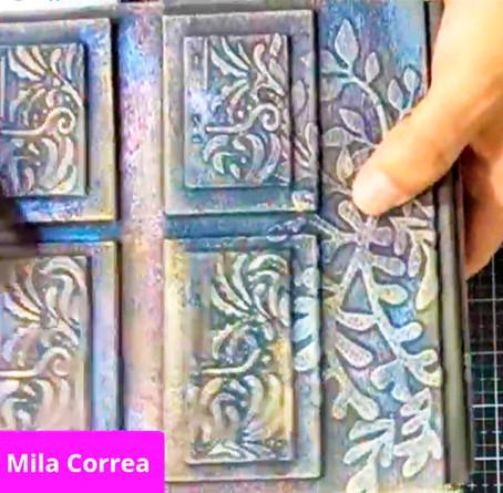 Clase de texturas con Mila Correa