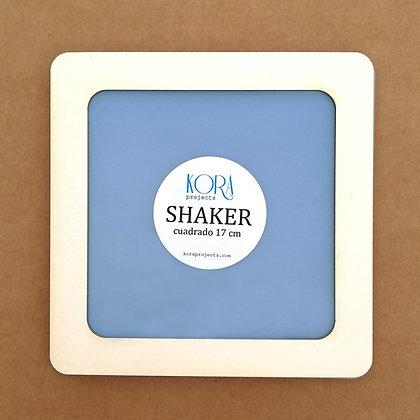 Shaker - Cuadrada 17 cm