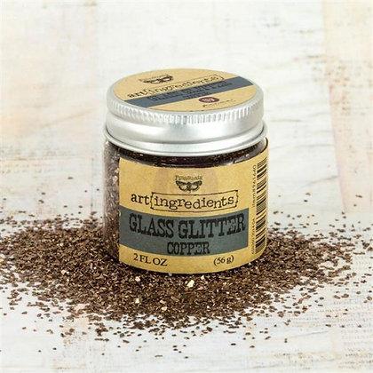 Glass Glitter Cooper - Art ingredients