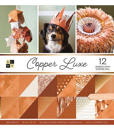 Copper Luxe - Block 12 x 12