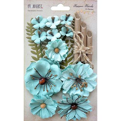 Blossoms blends - Sea breeze - Flores de papel