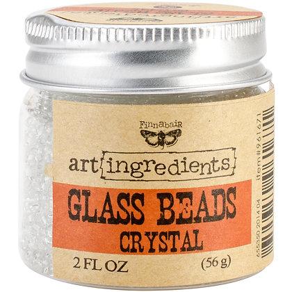Glass beads Crystal - Art ingredients