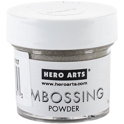 Embossing powder Platinum - Polvo de embossing