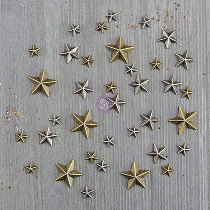 Mini stars - Mini estrellas de metal