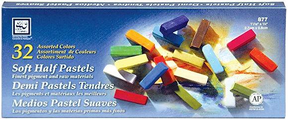 32 medios pastel suaves 32 Loew Cornell