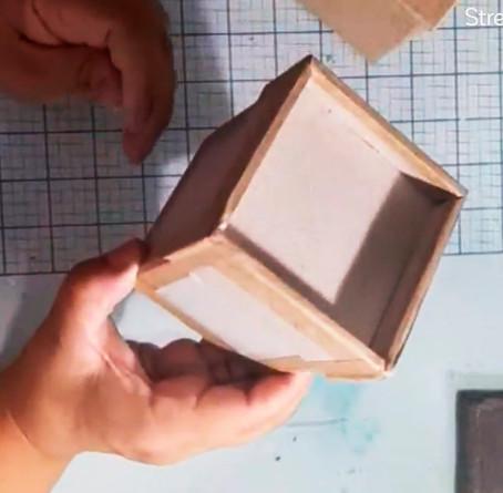 Clase gratuita de cartonaje: Cómo hacer una caja básica con Patricia Sanchez