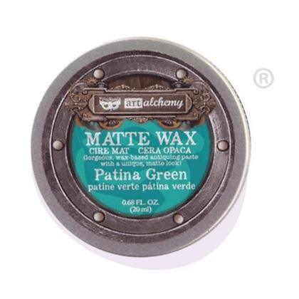 Matte Wax - Cera Matte Patina green
