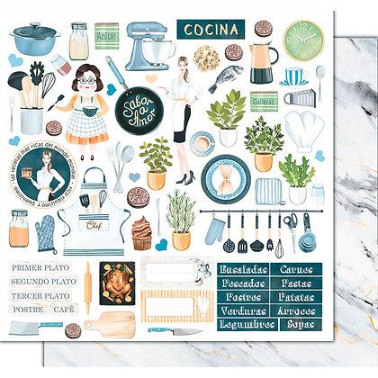 Recortable - Cocina con amor - Ayudantes