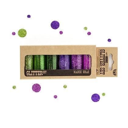 Art ingredients - Glitter set - Mardi gras