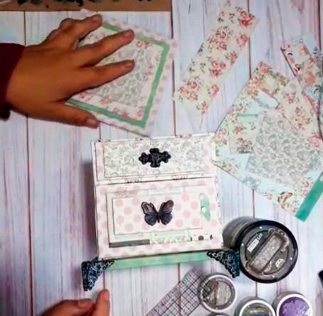 Seguimos aprendiendo Cartonaje creativo con Patricia Sanchez