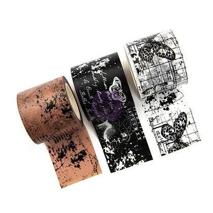 Set de washi tapes - Inked maps - Cinta de decoración