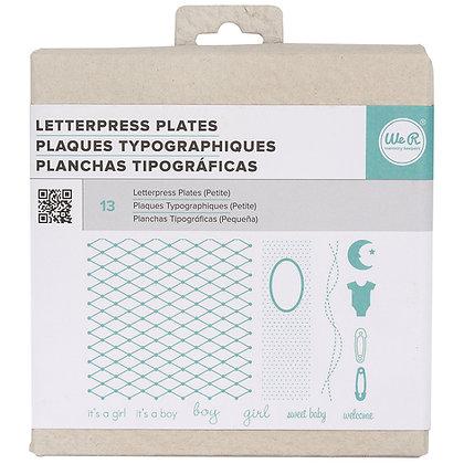 Planchas tipográficas - Petite