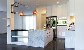 Modern kitchen by Omera Construction in Brunei